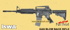 M4A1 LM4 PTR GBB Rifle with 2 Magazine (non-US) by KWA (NON-US version)